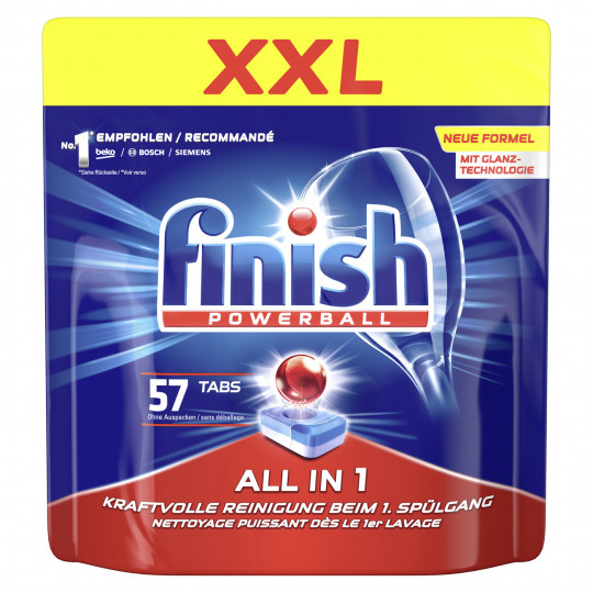 Finish Powerball All in 1 Tabs XXL-Pack 57ST