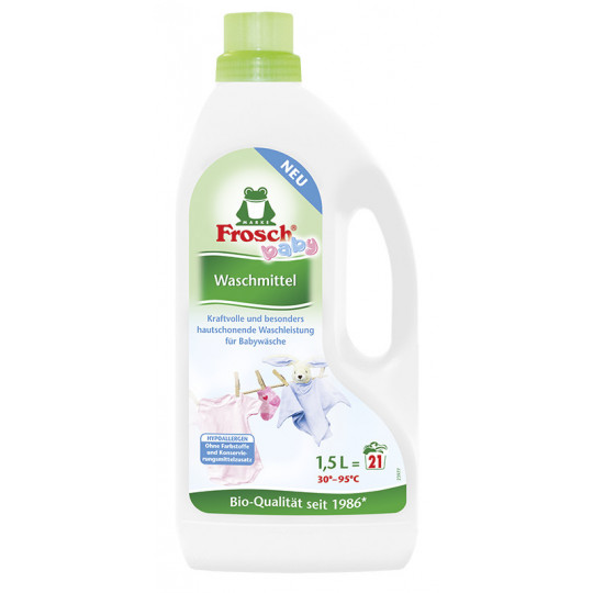 Frosch Baby Waschmittel 1,5 ltr 21 WL