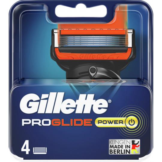 GilletteProGlide Power Rasierklingen 4 Stück