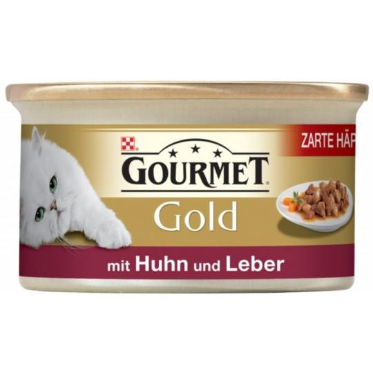 Purina Gourmet Gold mit Huhn und Leber 85G