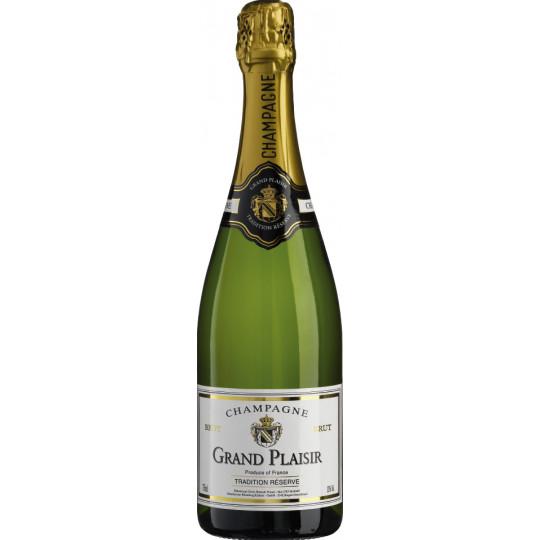 Grand Plaisir Champagner Brut 0,75 ltr