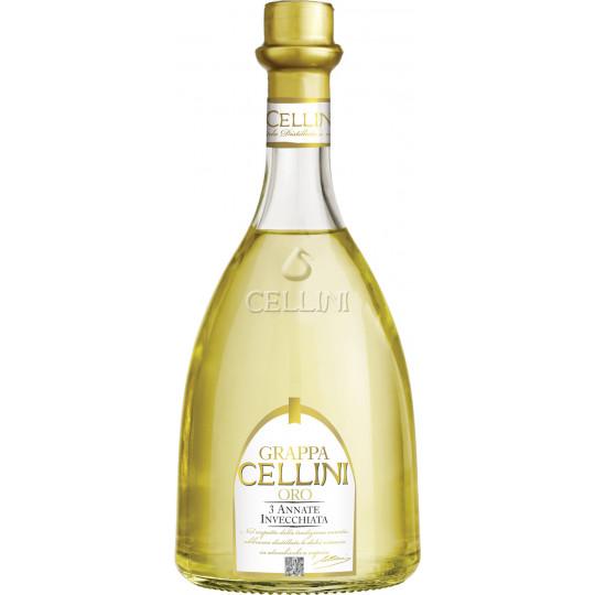 Cellini Grappa Oro 38% 700ml