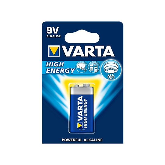 Varta High Energy 9V E-Block Batterie Type 4922