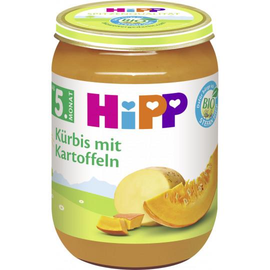 Hipp Bio Kürbis mit Kartoffeln nach dem 5. Monat 190 g