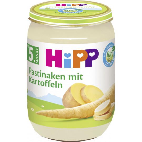Hipp Bio Pastinaken mit Kartoffeln ab dem 5. Monat 190G