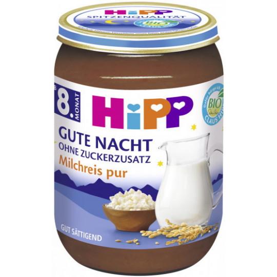 Hipp Bio Gute Nacht Milchreis pur ab 8.Monat 190G