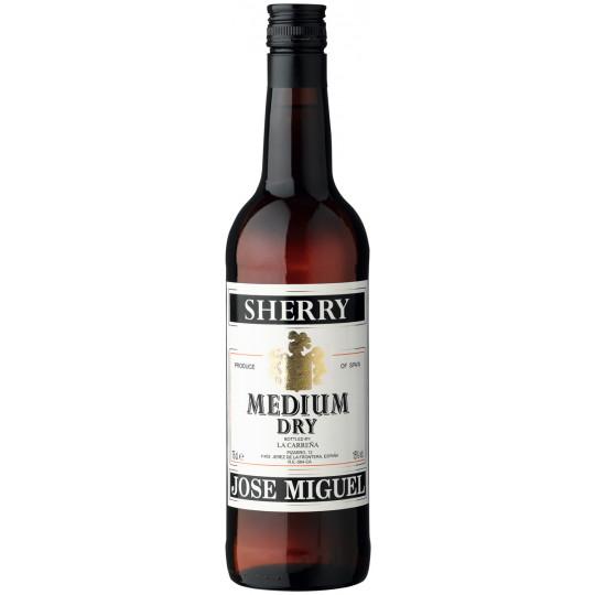 Jose Miguel Sherry Medium Dry 0,75 ltr