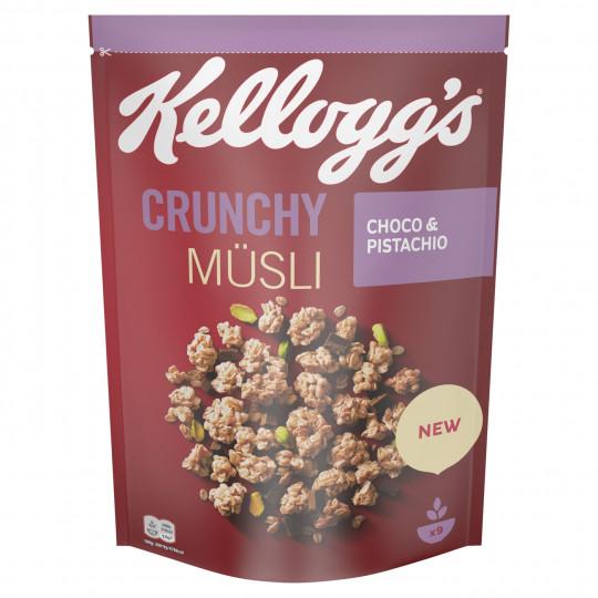 Kelloggs Crunchy Müsli Choco & Pistachio 425G