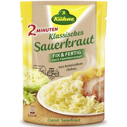 Kühne 2 Minuten Klassisches Sauerkraut Fix & Fertig 400 g