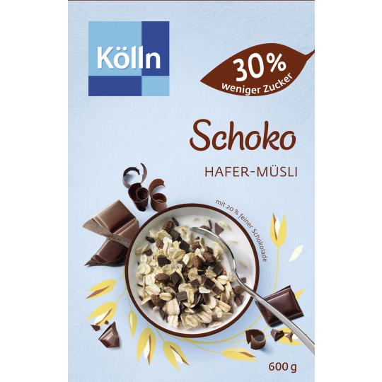 Kölln Müsli Schoko 30% weniger Zucker 600G