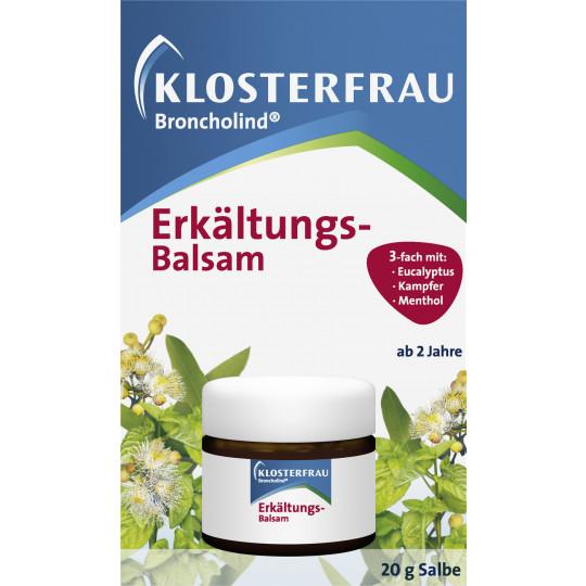 Klosterfrau Broncholind Erkältungs-Balsam 20 g
