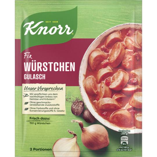 Knorr Fix Würstchen Gulasch 29 g
