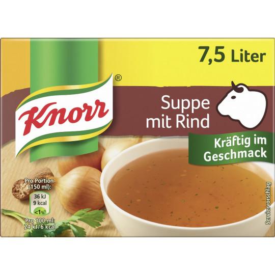 Knorr Fleisch Bouillon für 7,5L 150G