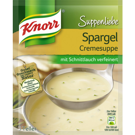 Knorr Suppenliebe Spargel Cremesuppe 58 g