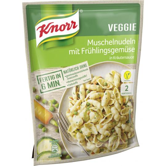Knorr Veggie Muschelnudeln mit Frühlingsgemüse in Kräutersauce 155 g