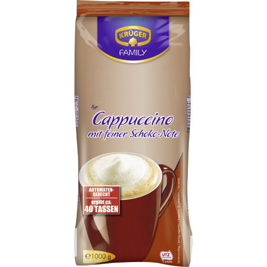 Krüger Cappuccino mit feiner Schokonote 1 kg