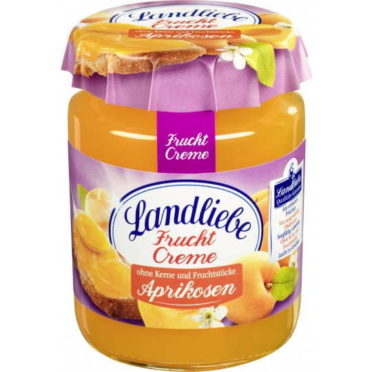 Landliebe Fruchtcreme Aprikosen 200 g