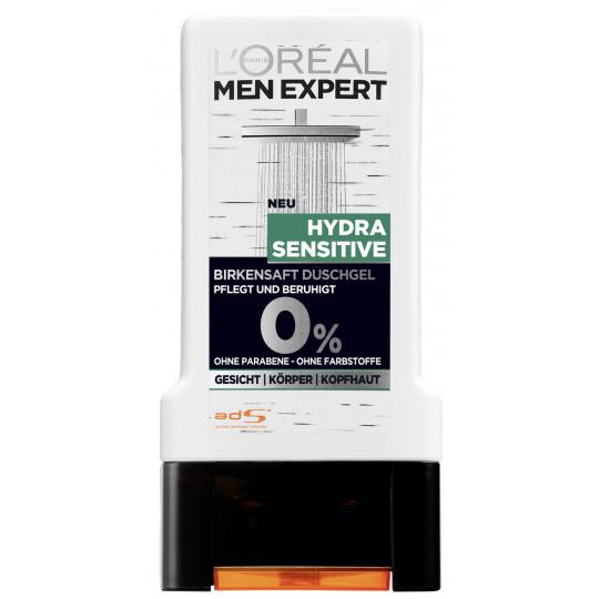 L'Oréal Men Expert Hydra Sensitive Birkensaft Duschgel 0,3 ltr