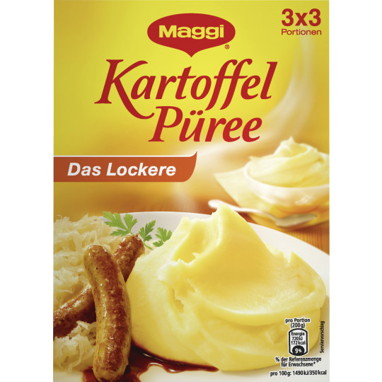 Maggi kartoffel Püree Das Lockere 3x 80G