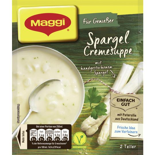 Maggi Für Genießer Spargel Cremesuppe ergibt 500 ml