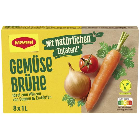 Maggi Gemüse Brühe für 8L 168G