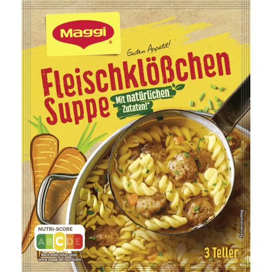 Maggi Guten Appetit Fleischklößchen Suppe für 750ml