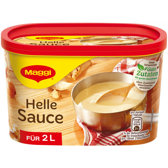 Maggi Helle Sauce ergibt 2 ltr
