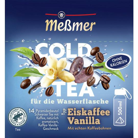 Meßmer Cold Tea Eiskaffee Vanilla 14ST 38,5G