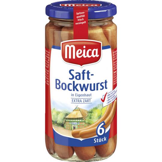 Meica 6 Saft-Bockwürste 380 g