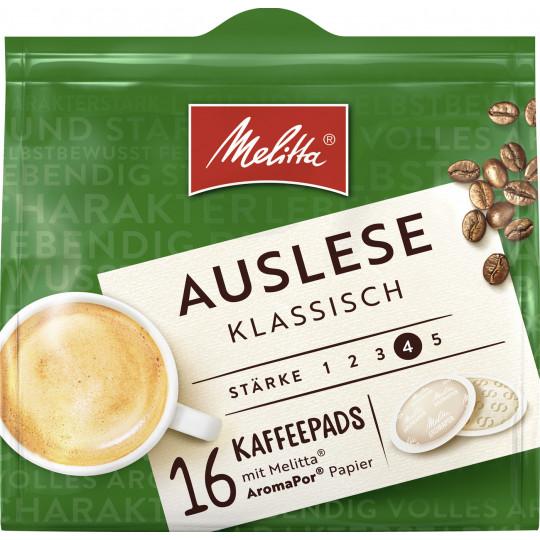 Melitta Auslese Klassisch Kaffeepads 16ST 112G