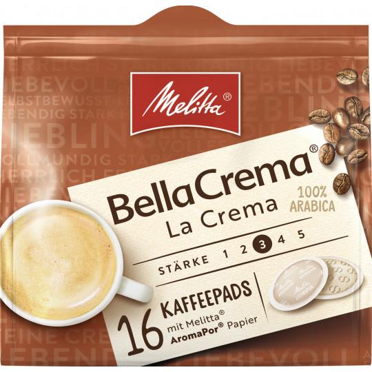 Melitta BellaCrema Kaffeepads La Crema 16ST 107G