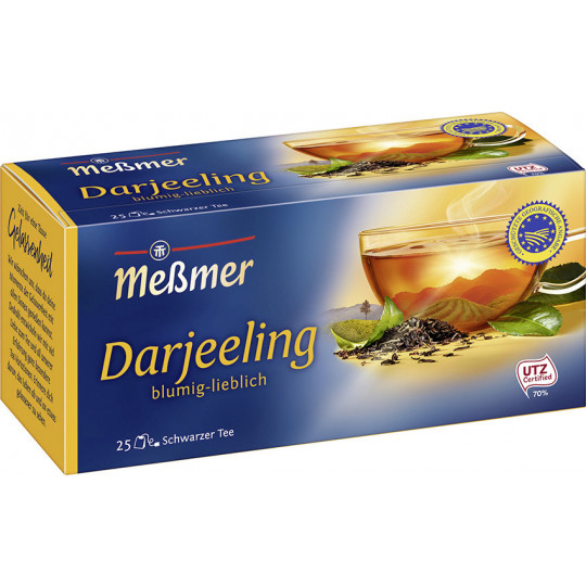Meßmer Tee Feinster Darjeeling 25ST 43,8G