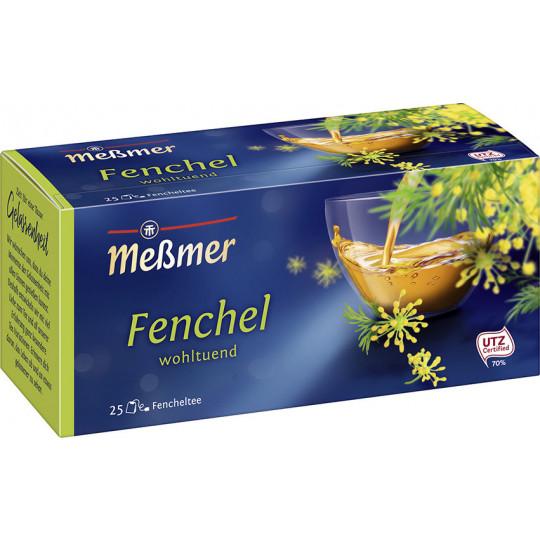 Meßmer Tee Fenchel 25ST 75G