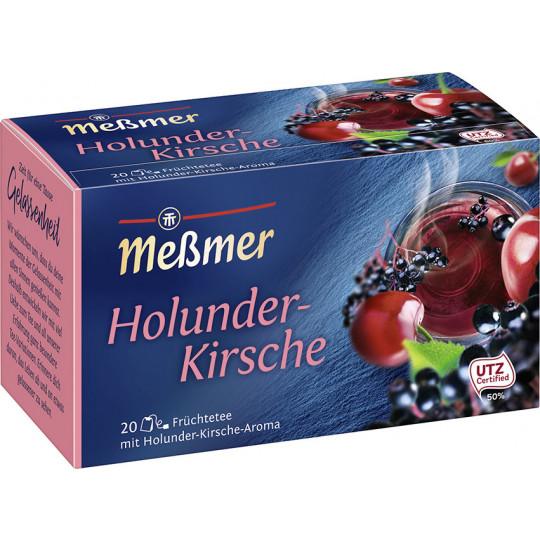 Meßmer Tee Holunder-Kirsche 20ST 55G