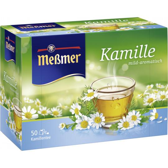 Meßmer Tee Kamillen 50ST 75G