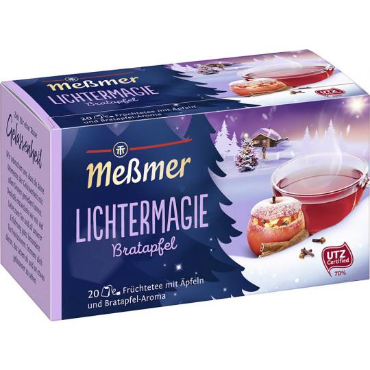 Meßmer Tee Lichtermagie Bratapfel 20ST 50G