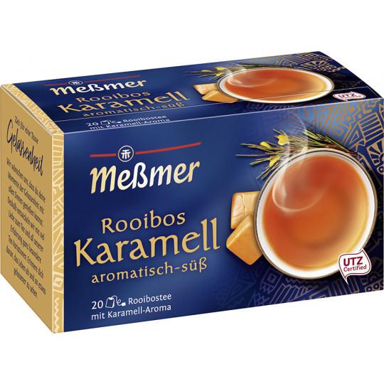 Meßmer Tee Rooibos Karamell 20ST 40G