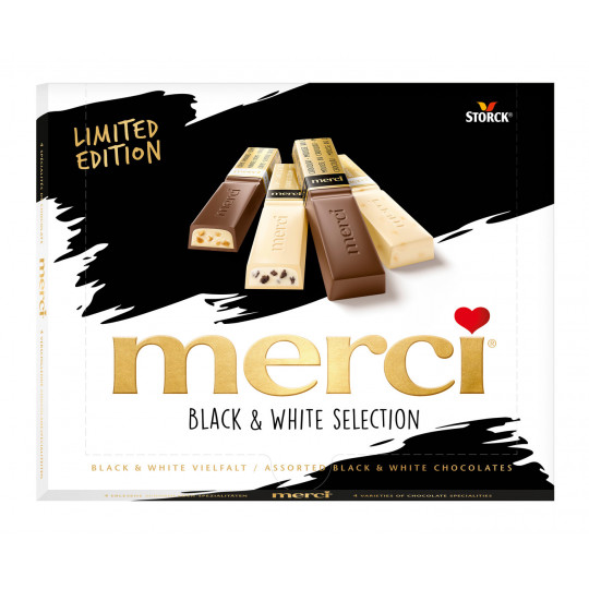 Merci Black & White Selection Limited Edition 240G