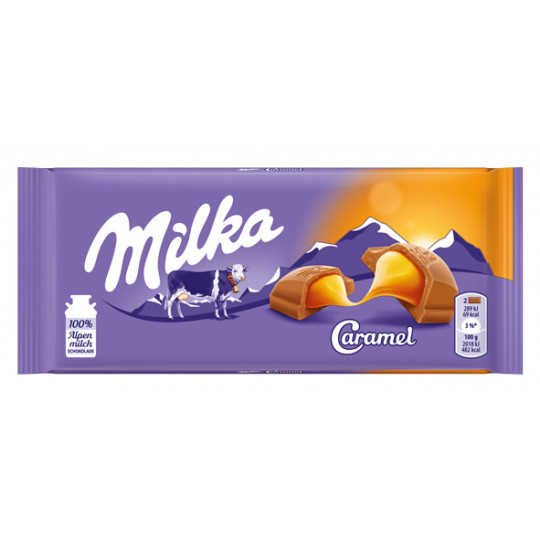 Milka Caramel 100 g