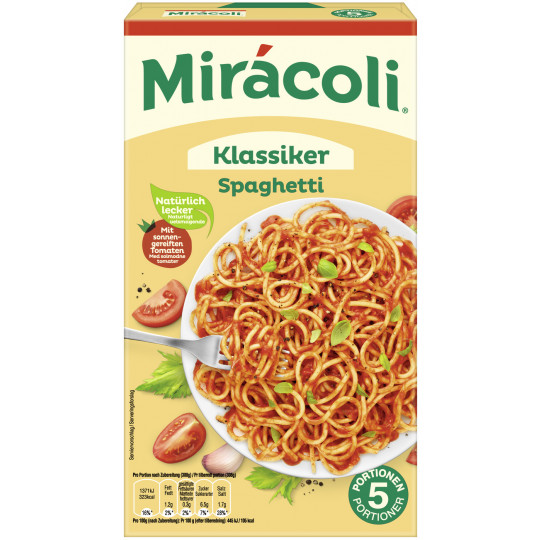 Miracoli Klassiker Spaghetti 5 Portionen 616 g
