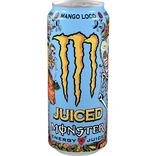 Monster Juice Mango Loco 0,5L