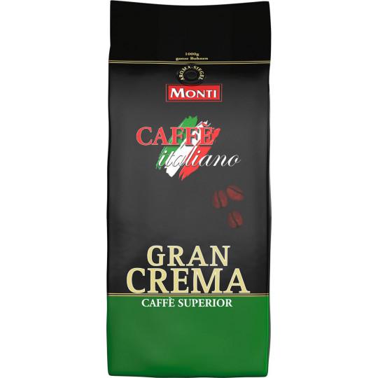 Monti Gran Crema ganzen Bohnen 1kg