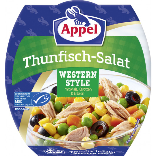 Appel Thunfischsalat Western Style 160G