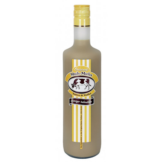Original Muh-Muhs Toffee & Vodka Likör 0,7 ltr