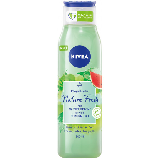 Nivea Pflegedusche Nature Fresh Wassermelone Minze Kokosmilch 300ML