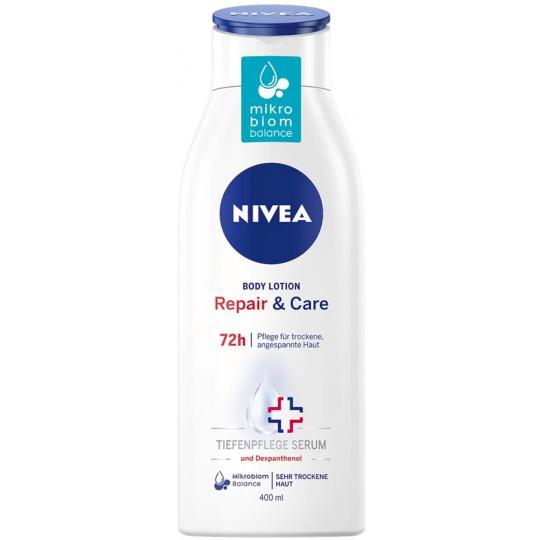 Nivea Body Lotion Repair & Care 72h 400ML