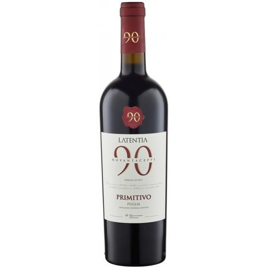 Novantaceppi Primitivo Puglia 2020 0,75L