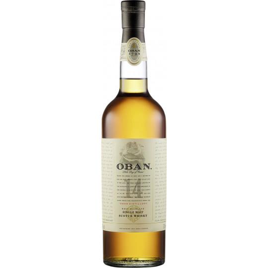 Oban 14 Jahre Single Malt Whisky mit GePa 700ml