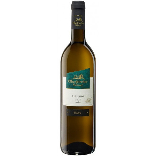 Oberkircher Riesling Spätlese Weißwein trocken 0,75 ltr