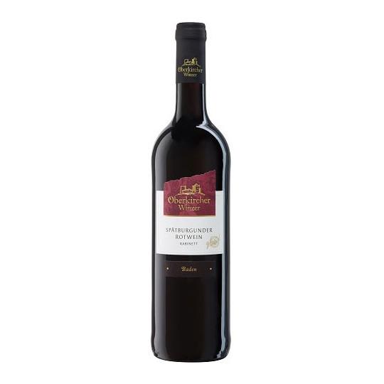 Oberkircher Spätburgunder Rotwein Kabinett 0,75 ltr